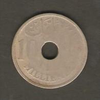 EGYPT    10 MILLIEMES  1917 (AH 1335)  (KM # 316) - Egypt