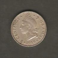 DOMINICAN REPUBLIC    5 CENTAVOS  1959  (KM # 18) - Dominicana