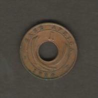 EAST AFRICA    1 CENT  1924 H  (KM # 22) - Colonie Britannique