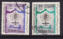 Sudan 1962 Malaria Eradication Set - Fine Used - Sudan (1954-...)