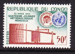 Congo 1964 World Meteorology Day - Mint - Congo - Brazzaville