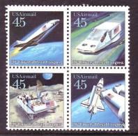 U.S. C 122-5  ** SPACE   U.P.U.  FUTURE DELIVERY - Air Mail