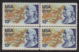 U.S. 1690X4  **  AMERICAN BICENTENNIAL - United States