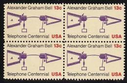 U.S. 1683X4  **  SCIENCE  TELEPHONE - United States