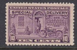 U.S. E 15  *  PERF 11 X 10 1/2  1927 Issue  MOTORCYCLE - Special Delivery, Registration & Certified