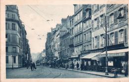"""Cpa  76  Le Havre Editee Par """" Raphael Tuck """" Representant La Rue De Paris Animee , Voir Les 2 Scans - Autres"""