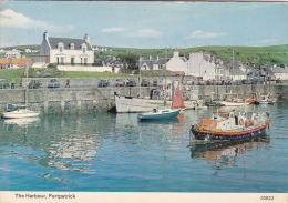 PORTPATRICK - THE HARBOUR . LIFEBOAT. - Dumfriesshire