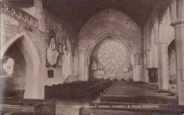 CHELTENHAM PARISH CHURCH AND ROSE WINDOW - Cheltenham