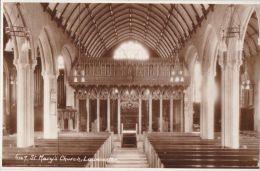 LAUNCESTON - ST MARYS CHURCH INTERIOR - England