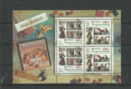 99.Hungary 2015. Old Plays - EUROPA CEPT - Complete Sheet MNH - Unused Stamps