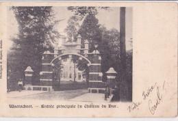 WAARSCHOOT : Entrée Principale Du Château Du Dam - Waarschoot