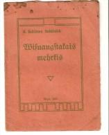 European Latvian Religion Old Book RIGA 1921 K. Beldawa ? Story Christianity - Old Books