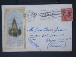U.S.A. - Trés Jolie Carte De Woolworth Building Voyagee En 1922   LOT  P4527 - Autres Monuments, édifices