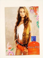 "1 X Singapore Perfume Postcard Cards Carte Parfumee - RALPH ROCKS RALPH LAUREN  (4.25"" X 6"" ) - Perfume Cards"