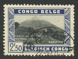 Belgian Congo, 2.50 F. 1937, Sc # 170, Used - 1923-44: Gebraucht