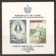 CUBA 1956 - Yvert #H15 - MNH ** - Unused Stamps