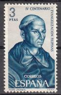 Spain    Scott No  1332     Mnh     Year  1965 - 1931-Hoy: 2ª República - ... Juan Carlos I
