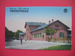 Cakovec-Zeljeznicka Stanica CSAKTORNYA VASUTALOMAS - Croazia