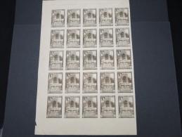 ESPAGNE - Période Royaume - Exposition De Séville 1930 - Panneau De 25 Ex - Non Dentelés - Trés Rare - Lot N° 6198 - Nuevos