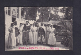 Exposition De Nancy- Interieur De L' Ambulance De L' Hopital De Casablanca - Pavillon De La Croix Rouge ( Imprimeries Re - Nancy