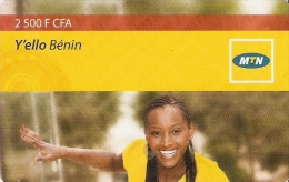 *BENIN* - Scheda Usata - Bénin