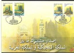 Herdenkingskaart - Carte-souvenir Marokko  3002 HK (cob ) Cote  : 8.50 Euro - Souvenir Cards