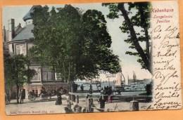 Copenhagen Langelinies Pavillon 1905 Postcard - Dänemark