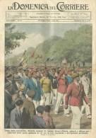 Domenica Corriere 19 1934 - Milano,Festa Giovinezza - Varsavia,sprofonda Pavimento - Campari - Ante 1900