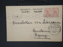 FINLANDE- Entier Postal Voyagé A Voir  Voir Scan   LOT P4570 - Finland