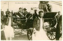 - B13975CPA - TUNIS - Son Altesse Le Bey Et Le Délégué A La Residence - Parfait état - AFRIQUE - Tunisia