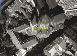 ORIGINELE FOTO LUCHTOPNAME 1950's PONCIN ** LIEGE EGLISE SAINT JEAN ** PHOTO ORIGINALE 1950's VUE AERIENNE  PONCIN - Orte