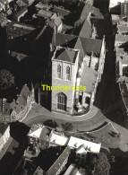 ORIGINELE FOTO LUCHTOPNAME 1950's PONCIN ** LIEGE EGLISE SAINT MARTIN ** PHOTO ORIGINALE 1950's VUE AERIENNE  PONCIN - Orte