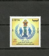2014-Libya- Anniversary Of Founding Libyan Army-Complete Set MNH** - Libya