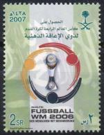 2007 SAUDI ARABIA Fuss Ball WM 2006 1stamp  MNH       (Or Best Offer) - Saudi-Arabien