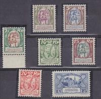 Liechtenstein 1925 Definitives 7v ** Mnh (21648) - Liechtenstein