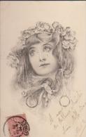 CPA:Art Nouveau:Portrait De Femme:M.M Vienne - Illustrateurs & Photographes