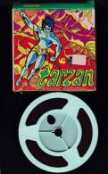 Vintage - Tarzan - Tragique Erreur   FILM Super 8 TALIE Illustration Boitier Pop Art - Altri