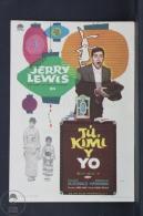 Original Old Cinema/ Movie Advertising Image - Movie: The Geisha Boy - Jerry Lewis, Marie McDonald, Sessue Hayakawa - Publicidad