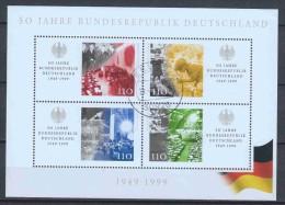 Germany Bund 1999 Mi Block 49 Canceled (1) - [7] West-Duitsland