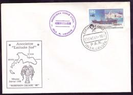 Chili Antarctique Lettre - Briefmarken