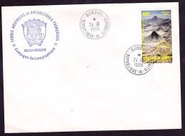 Djibouti Antarctique Lettre - Timbres
