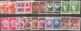 Bulgaria 1938 Nuovo** - Mi.320/39  Yv.299/318  2l. Leggero Segno Al Verso - 1909-45 Regno