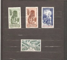INDE FRANCAISE  POSTE AERIENNE N °7/10 NEUF * - India (1892-1954)