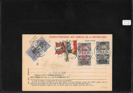 TOGO- 1919 French-british Occup,  Pc From Anecho To Cote D'Ivoire ( Ref 1026) - Lettres & Documents