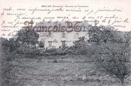 (16) Brillac - Château Du Fourgnoux - 2 SCANS - France