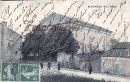 (16) Segonzac - Le Temple - 2 SCANS - France