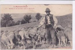 Berger Et Son Troupeau Dans La Montagne - Zonder Classificatie