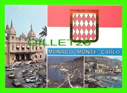 MONACO - PRINCIPAUTÉ DE MONACO - SOUVENIRS - 4 MULTIVUES - EDITIONS MOLIPOR - - Multi-vues, Vues Panoramiques