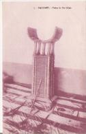 DAHOMEY 7 TRONE DU ROI GLELE - Dahomey