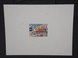 NOUVELLE CALEDONIE - Epreuvre - Superbe - Lot N° 6259 - Ongetande, Proeven & Plaatfouten